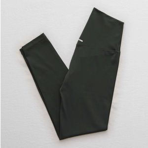 Aerie Play 7/8 Active Leggings - Olive Green